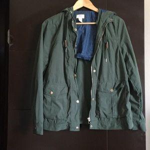 Forever 21 utility jacket.